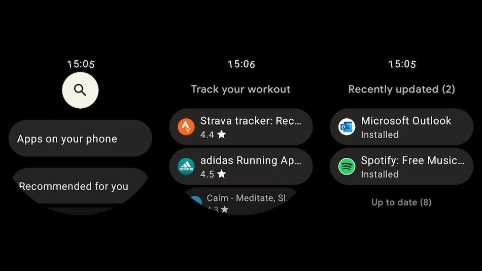 Google Play Store on Wear OS 3.0 Updated With Redesigned UI: Report