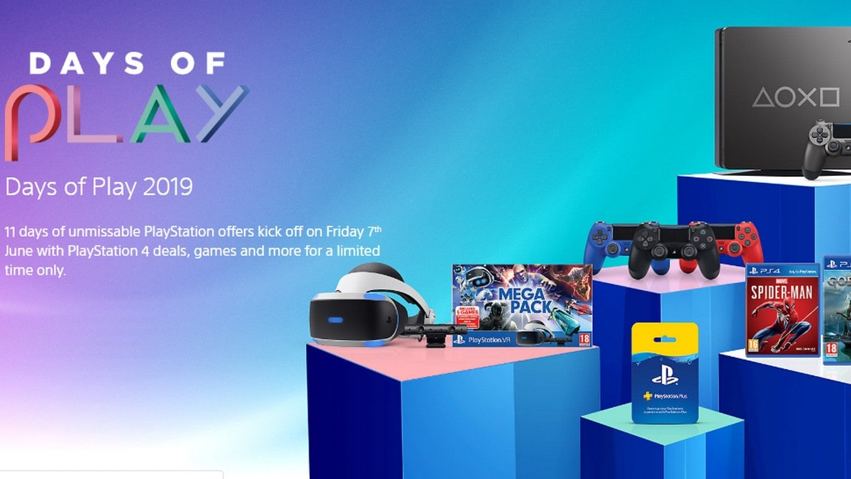 PlayStation Days of Play Sale: Here are the Deals on Games, Consoles, Accessories, and More