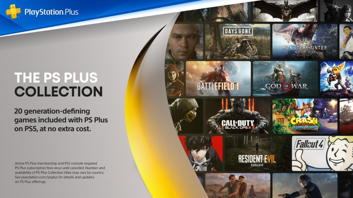 Playstation Plus Collection Details Announced All You Need To Know Technology News