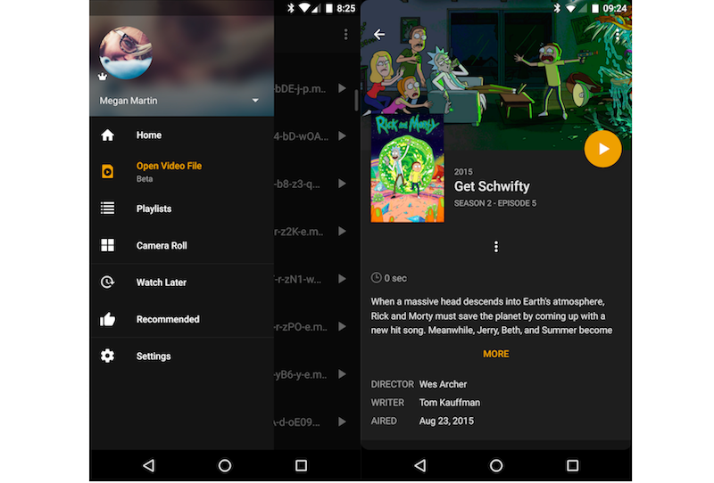 plex android update playback plex