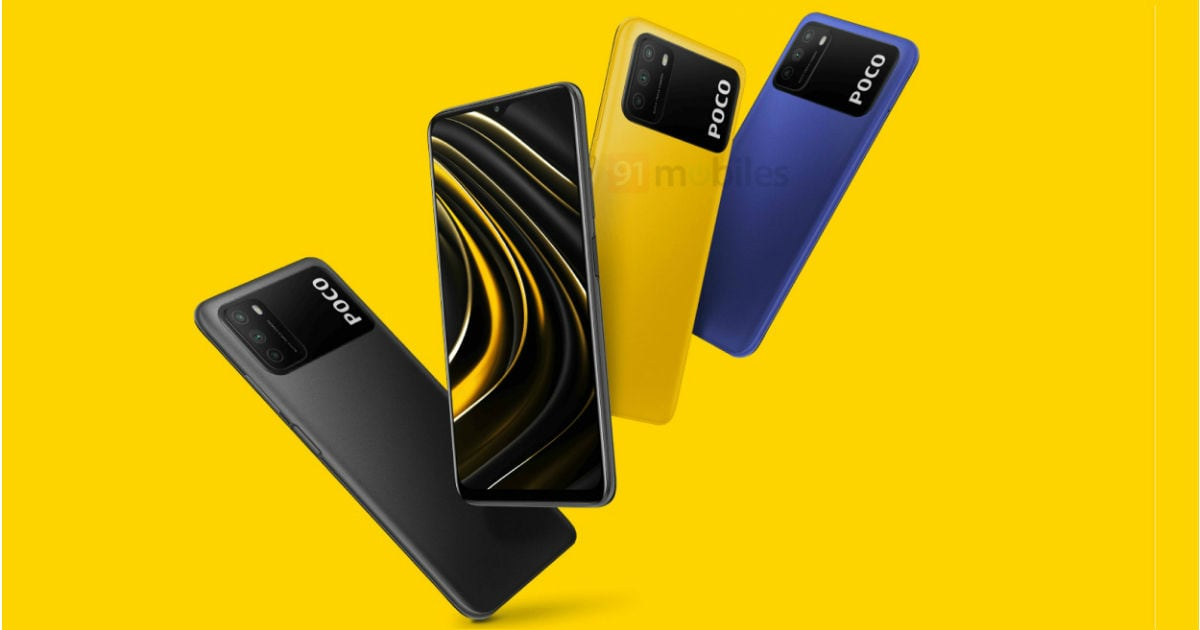 POCO M3 new renders leaked few days ahead of launch