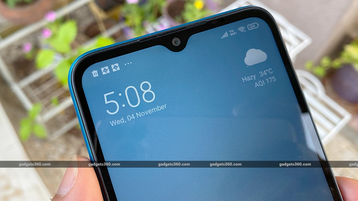 poco c3 review notch ss