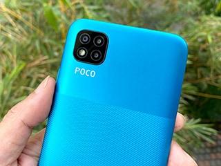 Poco C3 Review