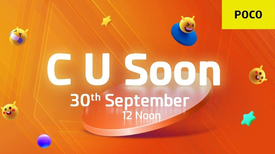 Poco C Series Launch in India Teased for September 30, Poco C4 Speculated