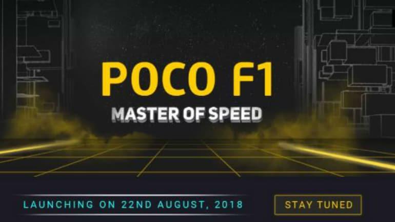 Xiaomi Poco F1 मिलेगा फ्लिपकार्ट पर, अहम स्पेसिफिकेशन हुए सार्वजनिक