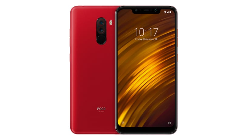 Poco F1 Rosso Red Colour Variant Launched in India, First Sale on October 11