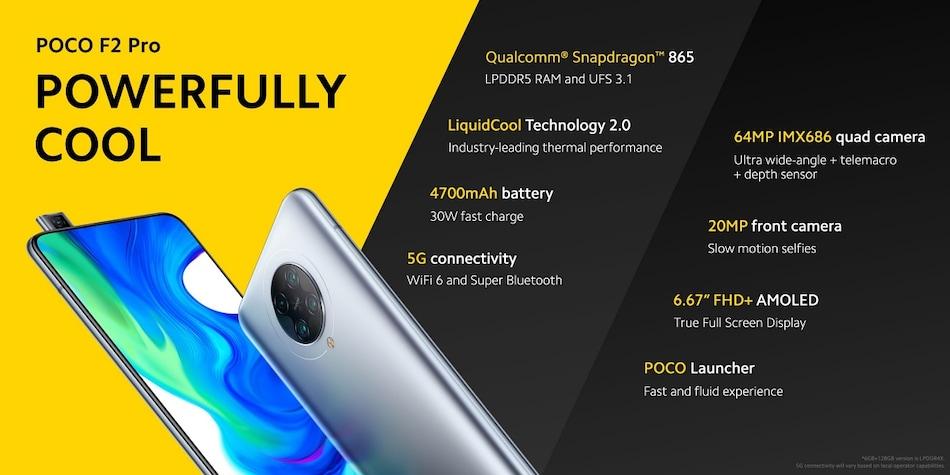 Poco F2 Pro लॉन्च, पॉप-अप सेल्फी कैमरे वाले इस फोन में है स्नैपड्रैगन 865 प्रोसेसर