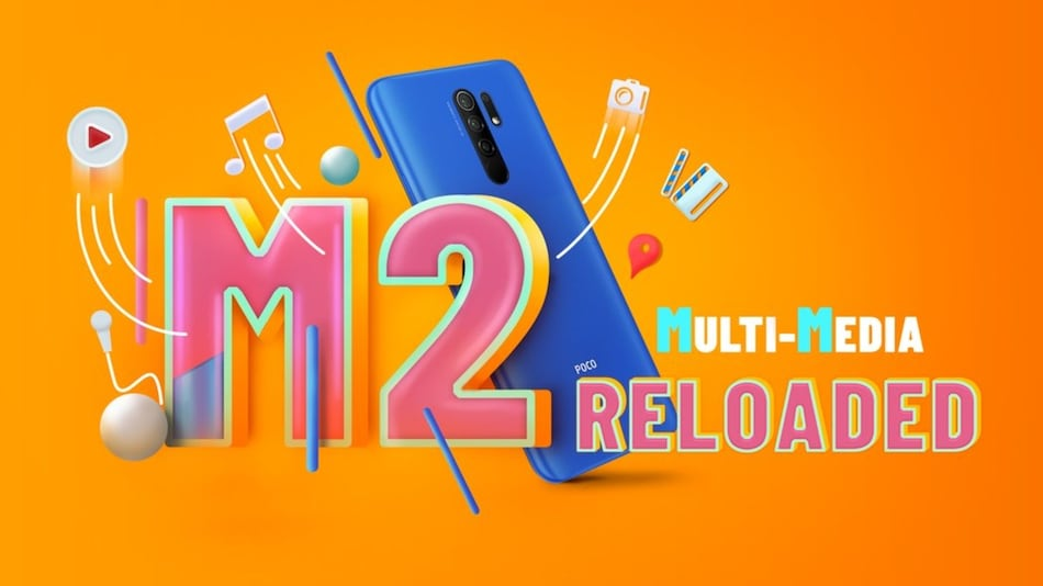 Poco M2 Reloaded India Launch Set on April 21, Will Retail on Flipkart