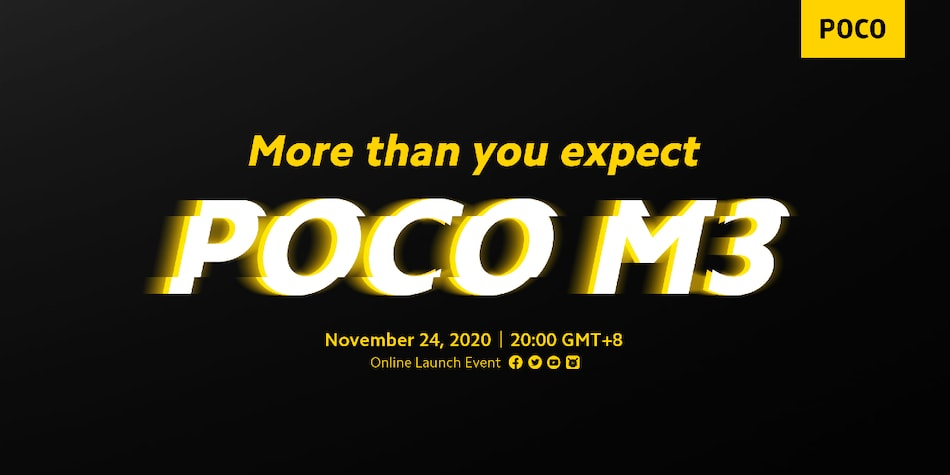 Poco M3 Price Leaks Ahead of Launch Today, Expected to Start at EUR 149