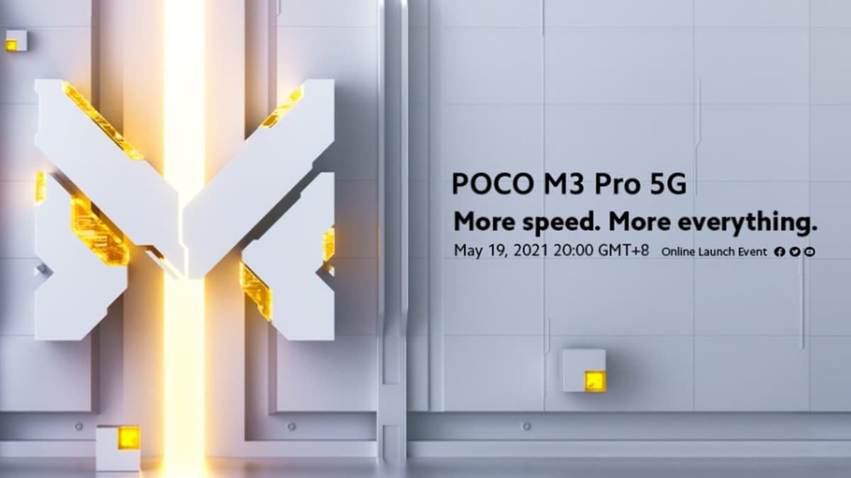 Poco M3 Pro 5G Launch Today: How to Watch Event Live