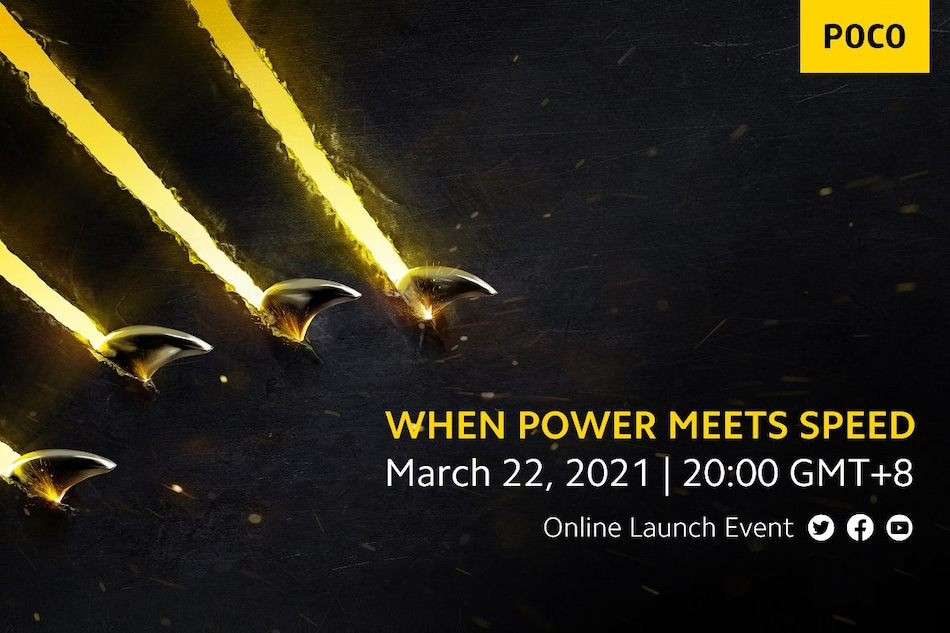 Poco X3 Pro, Poco F3 Launch Expected on March 22 as Company Sends Invitations for Online Event