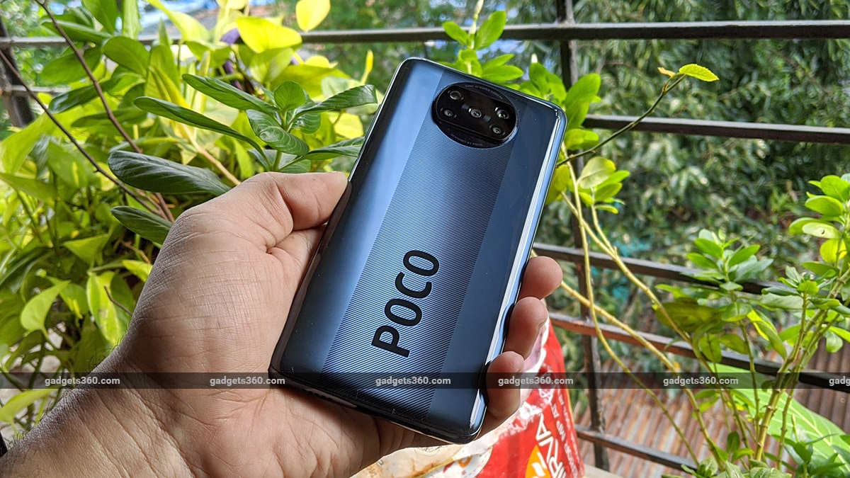 poco x3 review pattern back gadgets360 Poco X3 Review