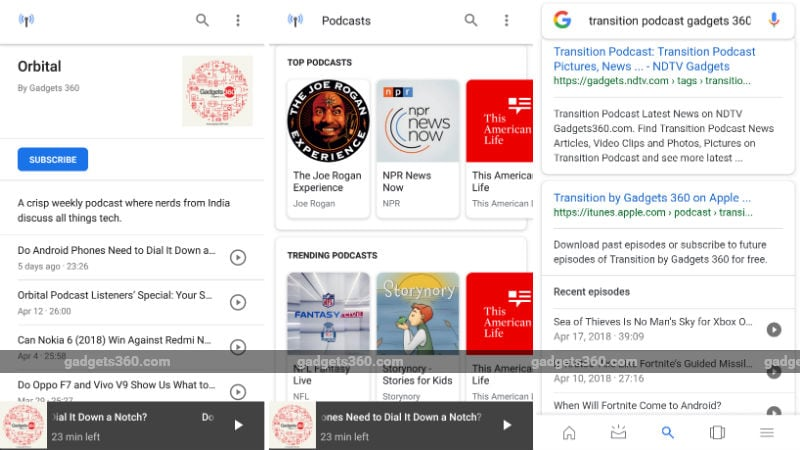 Google Brings a New Podcast Player for Android Users