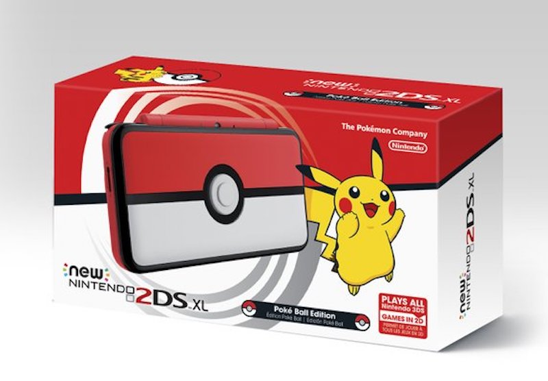 Pokemon Ultra Sun and Ultra Moon Poke Ball Edition New Nintendo 2DS XL, Legendary Pokemon, and Ultimate Beasts Revealed