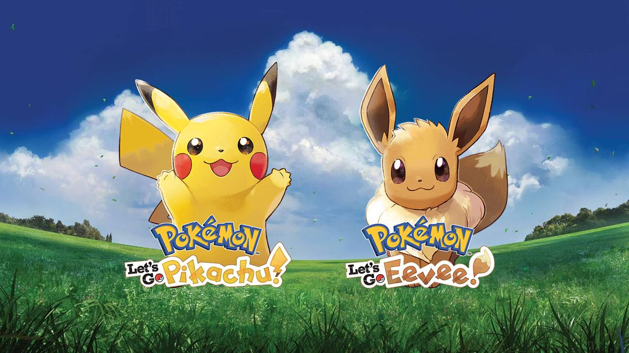 Pokemon Let S Go Pikachu And Pokemon Let S Go Eevee