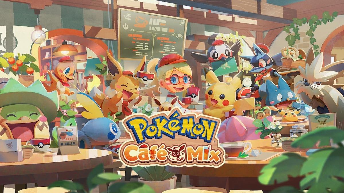Pokémon Café Mix, New Pokémon Snap, Pokémon Smile Games Announced for Switch, Mobile
