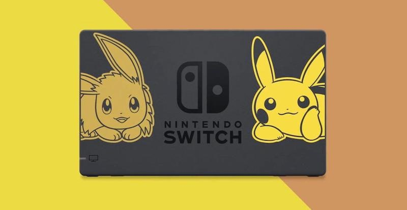 Pokemon Let's Go Nintendo Switch Limited Bundles Revealed