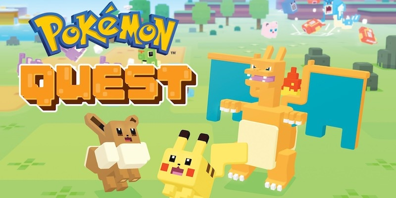 Pokemon Quest Review: Minecraft Meets Pokemon on the