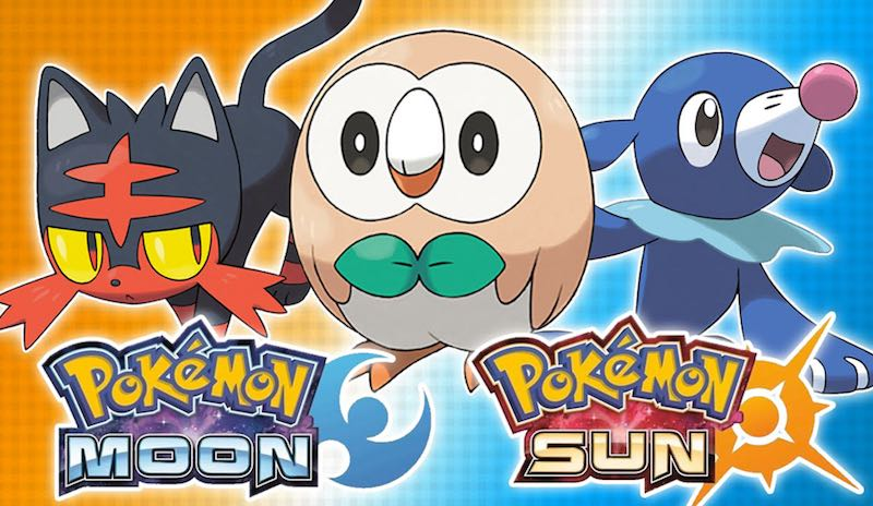 Pokemon Sun and Pokemon Moon Now Available in Japan, US, and Australia