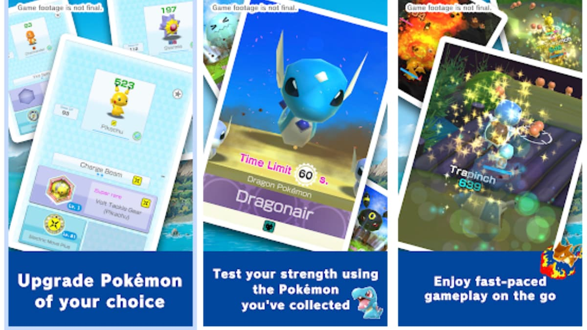 Pokemon Rumble Rush Soft Launch Australia Google Play Store Android App Game