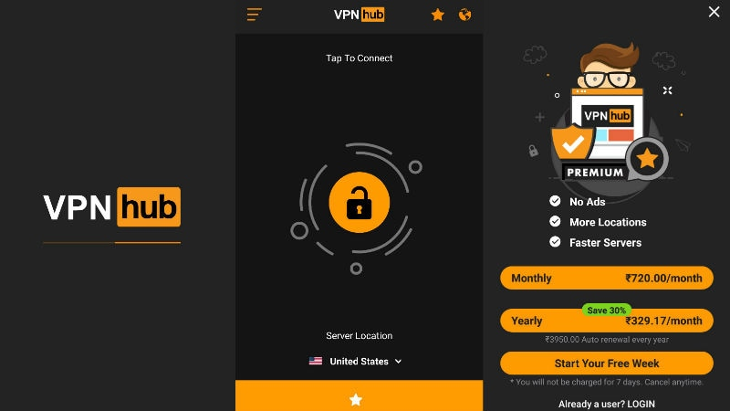 PornHub VPNhub for Secure Browsing Launched for Mobile and