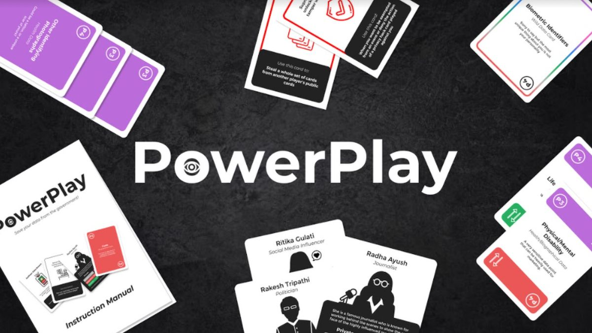 गोपनीयता-थीम्ड कार्ड गेम पावरप्ले हमारे अधिकारों को समझते हुए मज़ेदार बनाता है