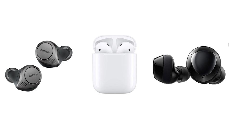 Apple Airpods 2nd Gen Vs Samsung Galaxy Buds Vs Jabra Elite 75t The Best True Wireless Earphones Under Rs 15 000 Ndtv Gadgets 360