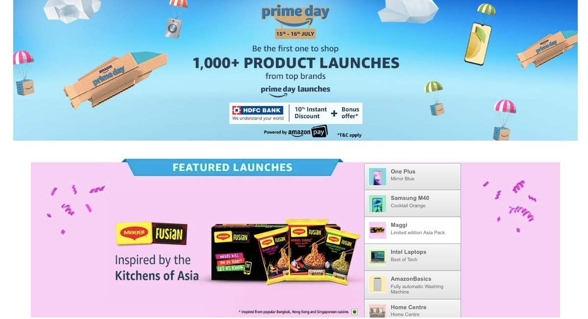 Prime Day Sale to Feature Over 500 New Products From Indian Small, Medium Businesses