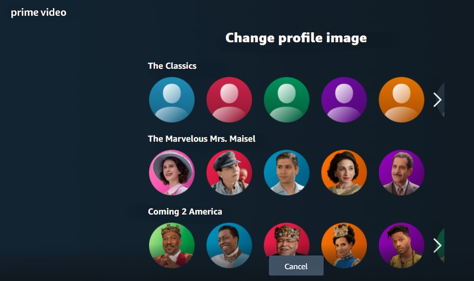 Amazon Prime Video Now Lets You Change Profile Photo to Characters From Movies, Series: How to Change