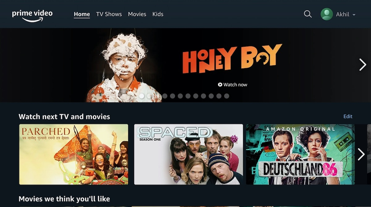 Amazon Prime video finally gets user profiles