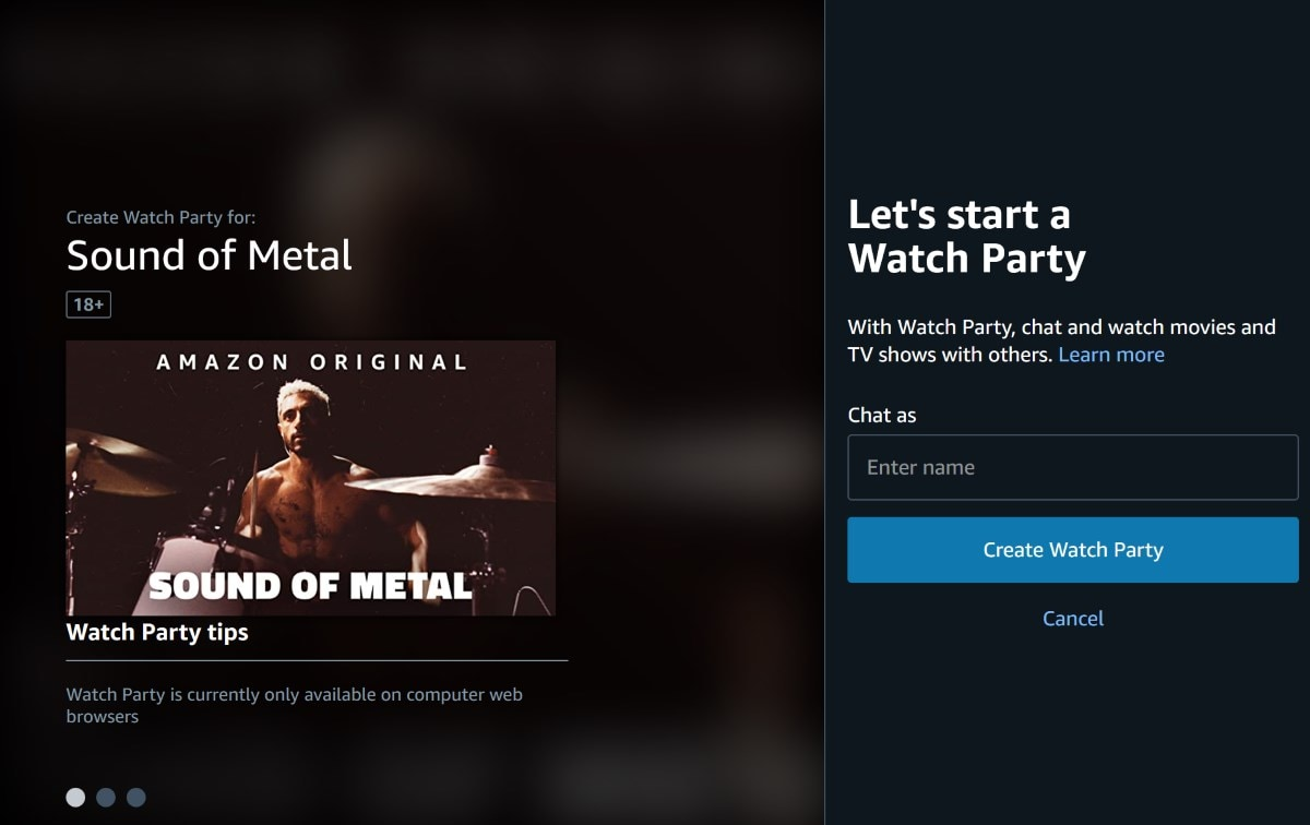 Amazon Prime Video launches 'Watch Party' in India
