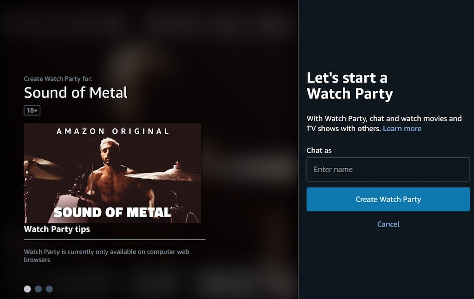Amazon Prime Video's 'Watch Party' Now in India. Here's How to Set It Up
