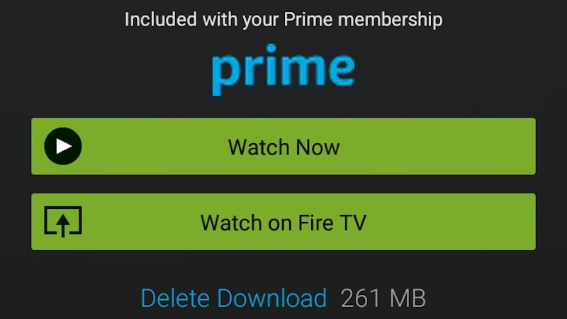 can you watch amazon prime offline