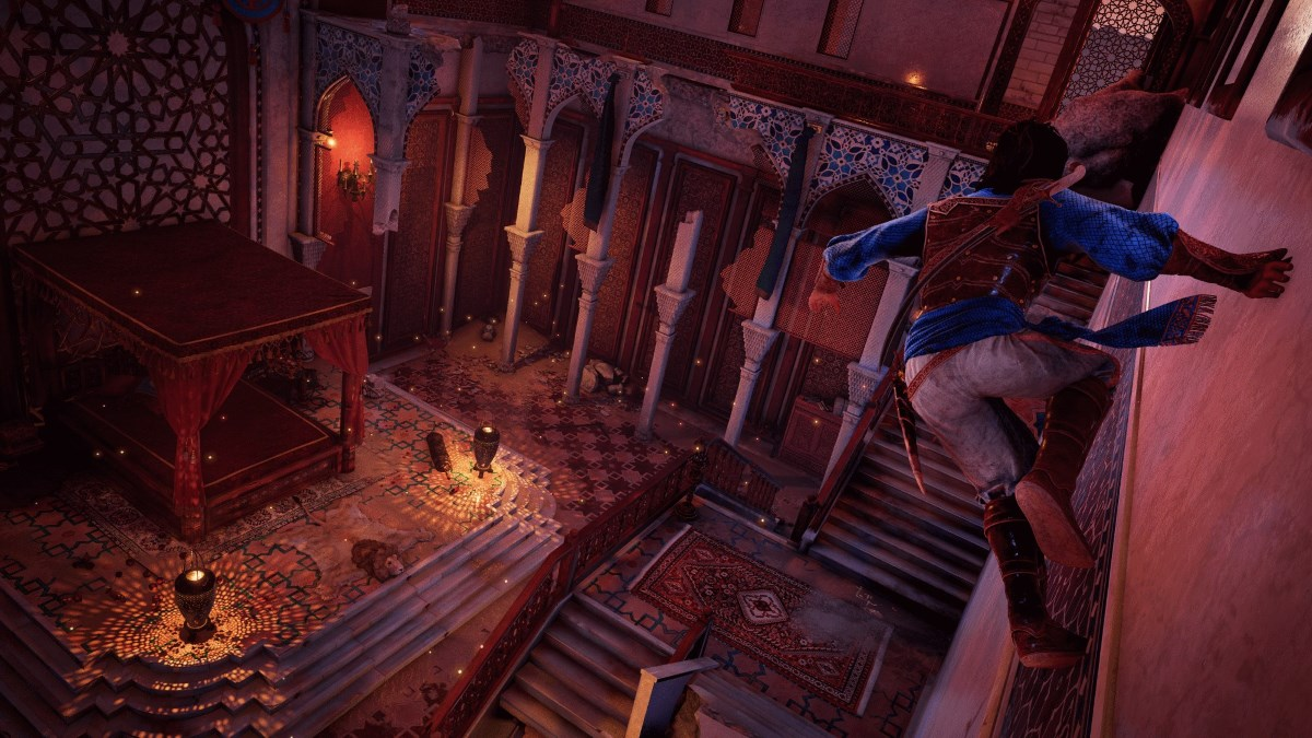 prince of persia remake parkour Prince of Persia remake Sands of Time