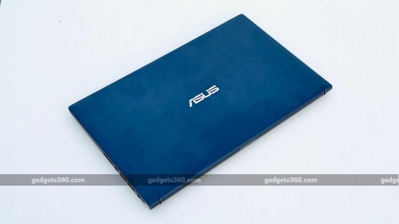 profile large Asus ZenBook 15 UX533F