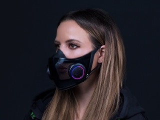 Razer Unveils Project Hazel Smart Mask, Project Brooklyn Gaming Chair With 60-Inch Rollout Screen at CES 2021