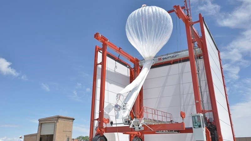 Google Parent's Project Loon Internet-Beaming Balloons a Step Closer to Deployment