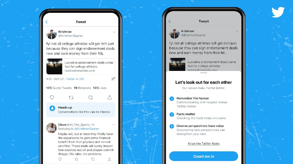 Twitter Testing Prompts That Warns Users if a Conversation Could Get 'Heated or Intense'