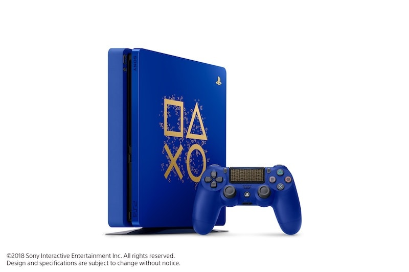 PS4 Days of Play Limited Edition Console Announced