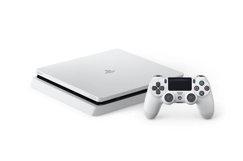 The PS4 Slim is getting a Glacier White version this month
