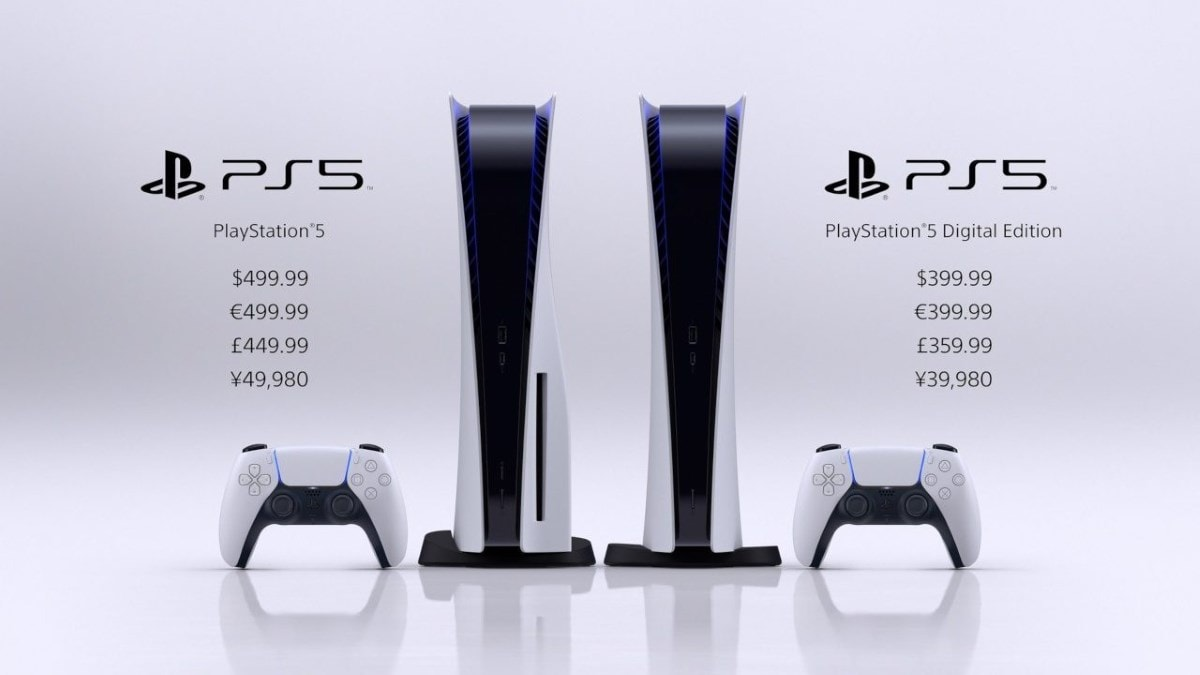 ps5 prices playstation 5 pricing
