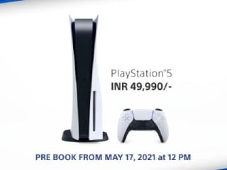 PS5 Restock: PlayStation 5 Pre-Orders Listed to Begin in India on May 17