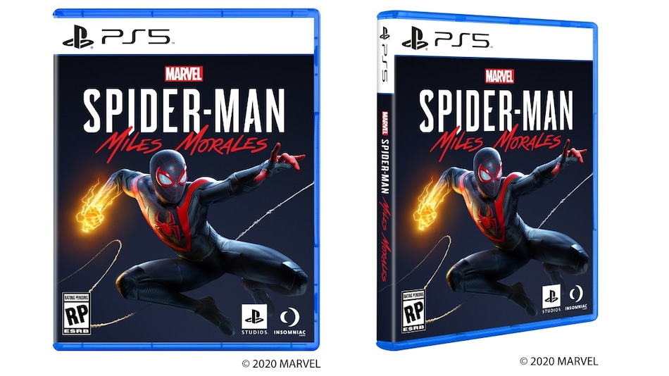 Sony Reveals PS5 Game Box Design With Spider-Man: Miles Morales Art