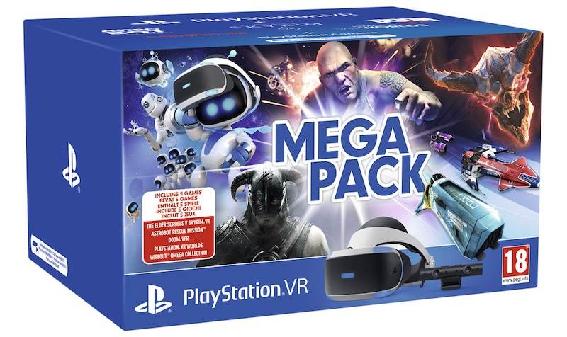 PlayStation VR Mega Pack Bundle India Price and Release Date Revealed