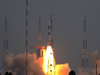 ISRO Launches DRDO Emisat Satellite, Successfully Puts It Into Orbit