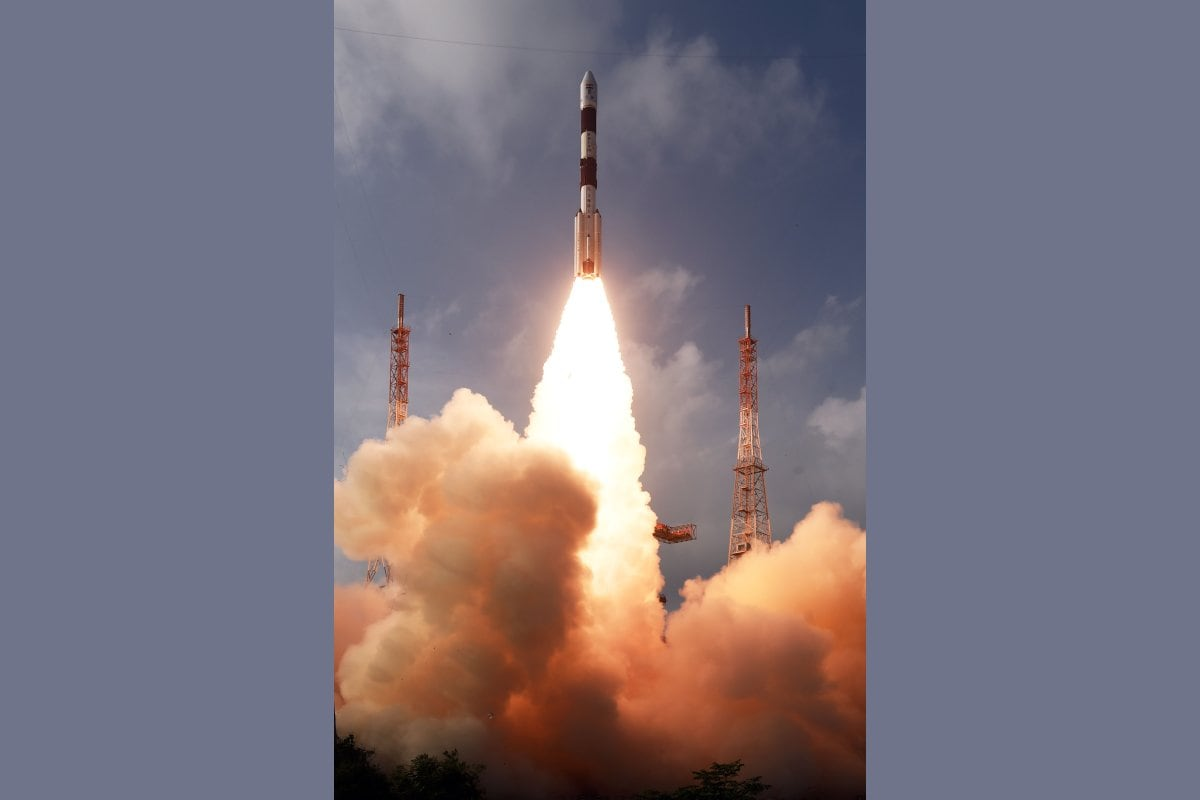 ISRO Launches Latest Communication Satellite CMS-01 on Board PSLV-C50