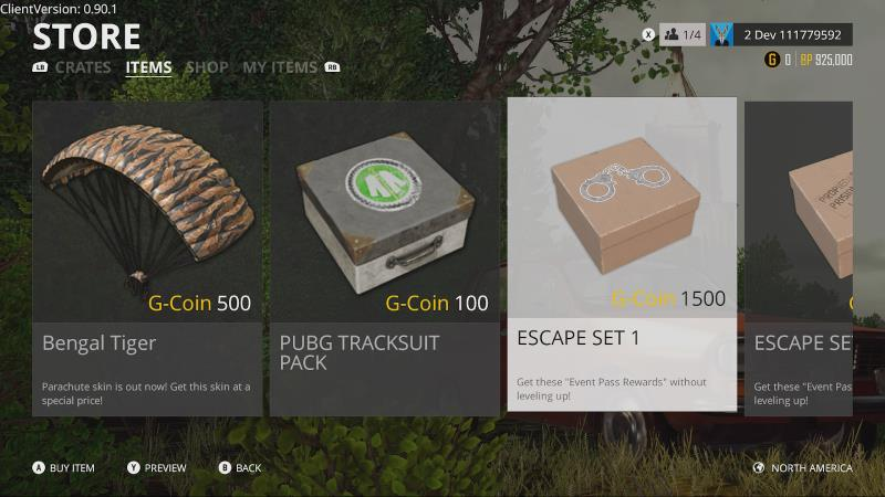 Pubg Xbox One G Coin Currency Announced Requires Real