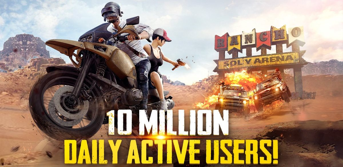 PUBG Mobile Now Has 10 Million Daily Active Users