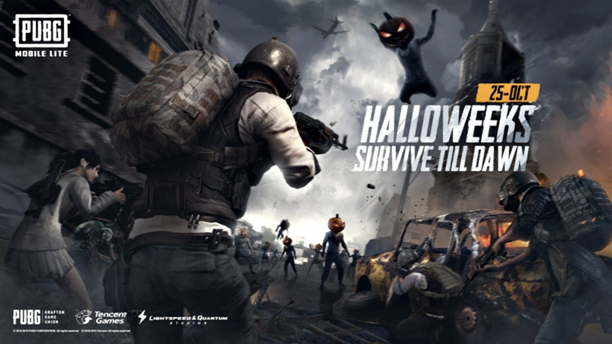 PUBG Mobile Lite 0.14.6 Update Adds Survive Till Dawn Halloween Mode, New Weapons, and More