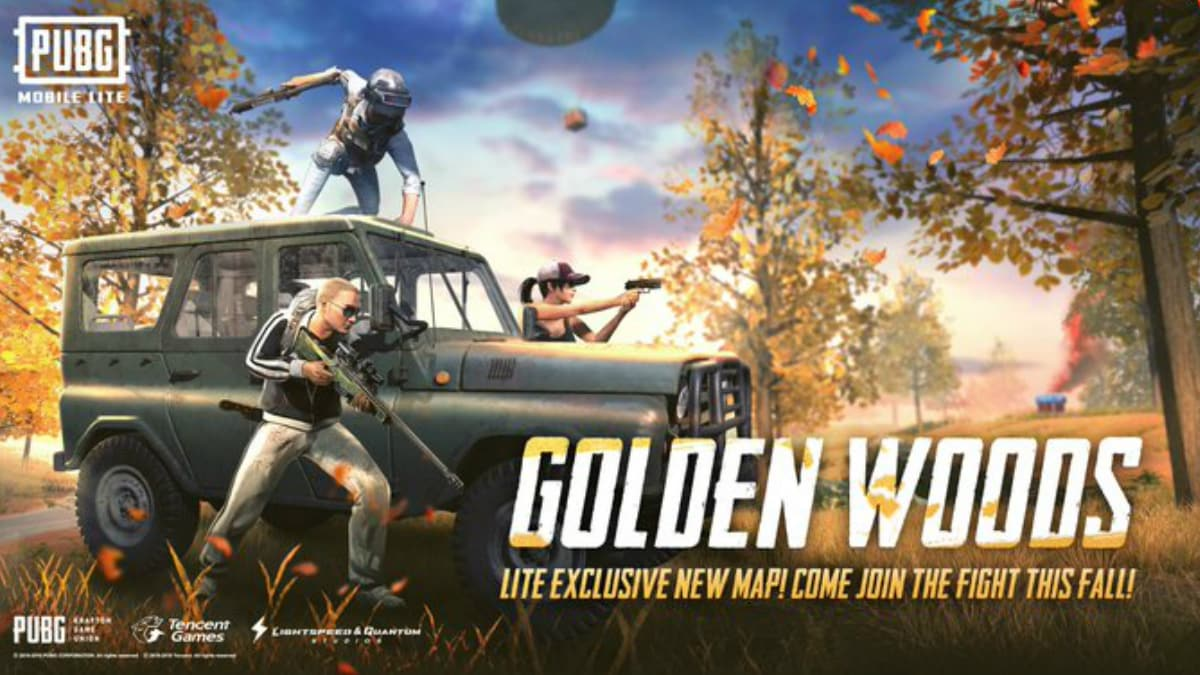 PUBG Mobile Lite v0.14.1 Update Brings Golden Woods Map in India , More; Amazon Prime Benefits Now Include PUBG Mobile Game Add-Ons